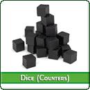 Набор кубиков (каунтеров): Чёрные