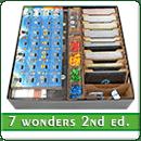 Органайзер для настольной игры 7 Чудес (2 издание) + дополнения