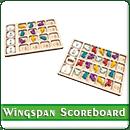 Игронайзер Планшеты подсчета очков раунда для игры Крылья (Wingspan)