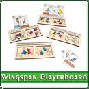 Игронайзер Планшеты игроков для игры Крылья (Wingspan)