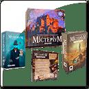 Комплект настольных игр из серии «Мистериум»