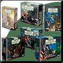 Комплект настольных игр из серии «Ужас Аркхэма»