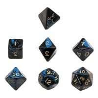 Набор Кубиков Разного Типа 7 шт: Синий