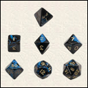Набір Кубиків Різного Типу 7 шт: Синій