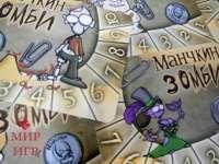 Настольная игра Счетчики уровней Манчкин Зомби 6шт.