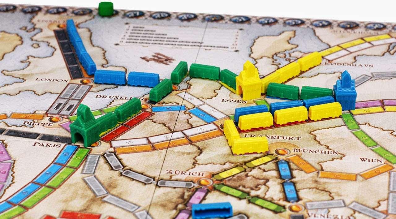 Настольная игра Билет на Поезд: Европа