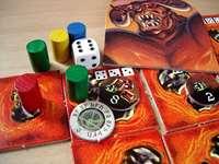 Настольная игра - Магдар. Демон против рудокопов