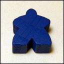 Мипл Синий (Meeple Blue)