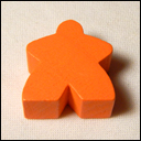 Мипл Oранжевый (Meeple Orange)
