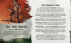 Arkham Horror - Curse of the Dark Pharaoh Expansion