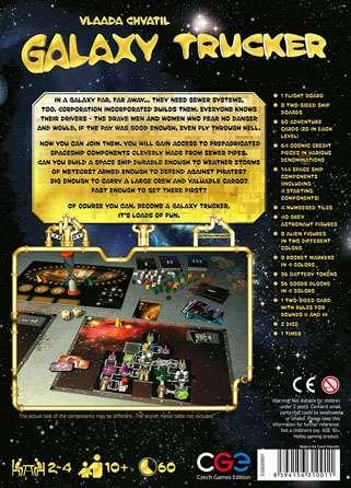 Настольная игра Galaxy Trucker