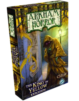 Настольная игра - Arkham Horror - The King in Yellow Expansion