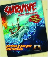 Survive: Escape from Atlantis! Dolphins and Dive Dice