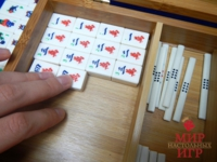 Настольная игра Маджонг бамбук в шкатулке (Mah Jongg Philos 3168)