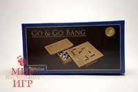 Игра Го в деревянной шкатулке (Go & Go Bang Philos 3215)