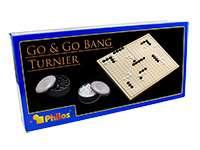 Настольная игра Игра Го турнирная, складное поле (Go & Go Bang Philos 3210)